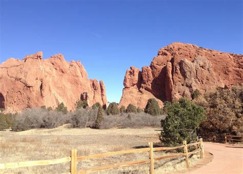 Garden Of The Gods, Colorado Springs, Colorado Pursuitist