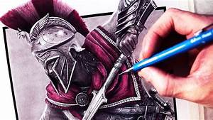 Let's Draw ASSASSIN'S CREED ODYSSEY - FAN ART FRIDAY - YouTube