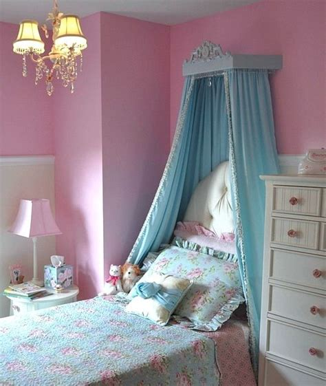 girl bed fabric canopy carved wood bed crown  full