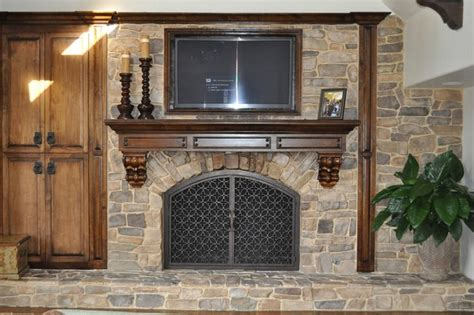 Kitchen Makeover On A Budget Ideas - fireplace remodel ideas