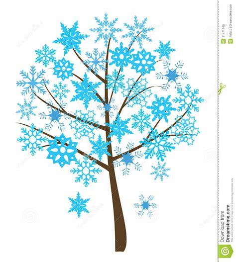 snowflake tree stock photo image 11871740