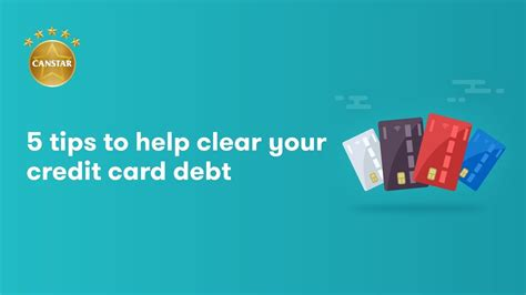 tips   clear  credit card debt youtube