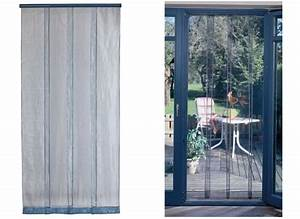 Rideaux De Porte Exterieur : rideau de porte moustiquaire mosquito 100 x 220 cm jardideco ~ Dode.kayakingforconservation.com Idées de Décoration