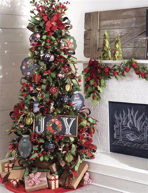 homespun holiday christmas tree by raz imports fall