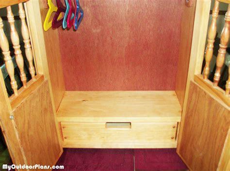 American Armoire Plans by Diy 18 Inch Doll Armoire Myoutdoorplans Free