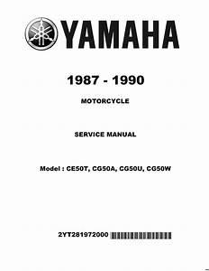 Yamaha Jog Wiring Diagram