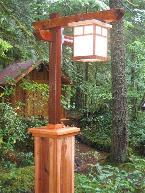 lamp post idea   landscape  keeping  cottage