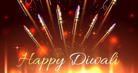 Happy Diwali Crackers Wishes Desktop 1080p Wallpapers