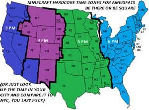 Arizona Mountain Time Zone Map
