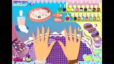Barbie Nail Salon And Makeup Games