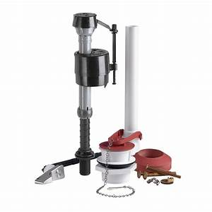Shop fluidmaster universal toilet repair kit at lowescom for Toilet tank parts