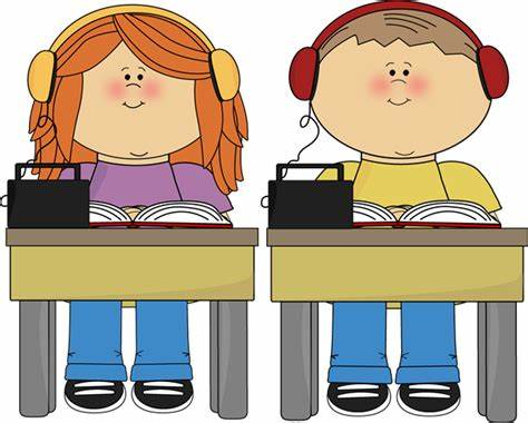 Music Tested In Kindergarten reading clip art