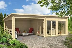 Gartenhaus Mit überdachter Terrasse : gartenhaus island 70 iso ~ One.caynefoto.club Haus und Dekorationen