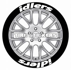 idlers tire lettering tire stickers With tire lettering stencils