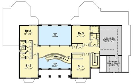 majestic two level house plan with main level owner s suite 42576db architectural designs