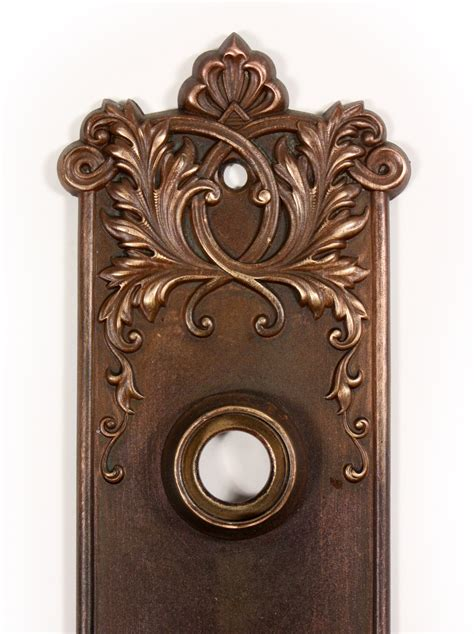 antique door hardware antique bronze p f corbin lorraine door knob set