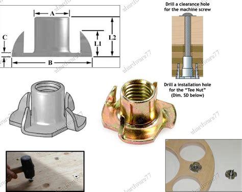 woodworking insert nut