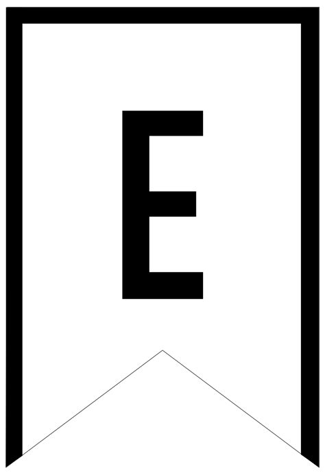 Letter Template Free Printable Abc Letters Banner Templates