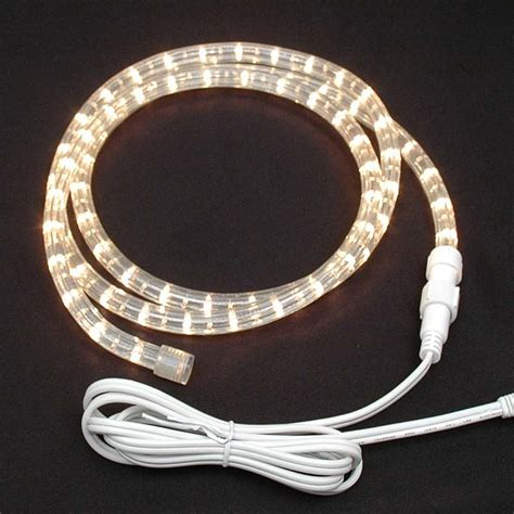 clear custom chasing rope light kit 120v 3 wire novelty