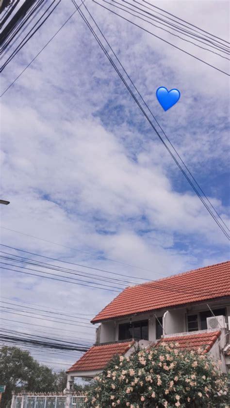 ท้องฟ้าน่ารักเหมือนเธอเลย;—;💙   ท้องฟ้า