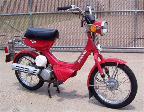 Fa50 Suzuki by 1985 Suzuki Fa50 Shuttle Moped Photos Moped Army