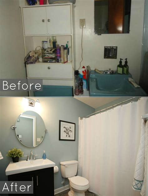 Before And After Bathroom Pic Much Better Without That