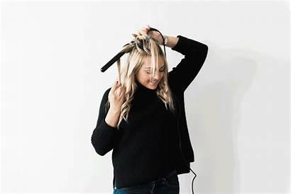 Wand Curls Loose Hair Tutorial Bows Sequins