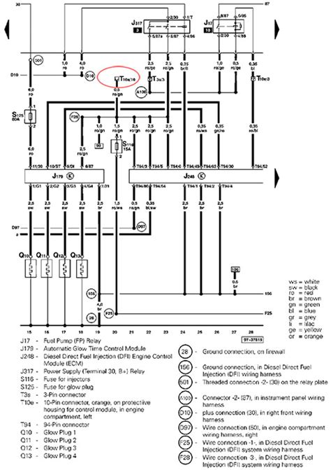 Alternator Wiring Diagram 2001 Audi A6 by 01 Audi A4 1 8t Quattro Tdi Conversion Page 8 Tdiclub