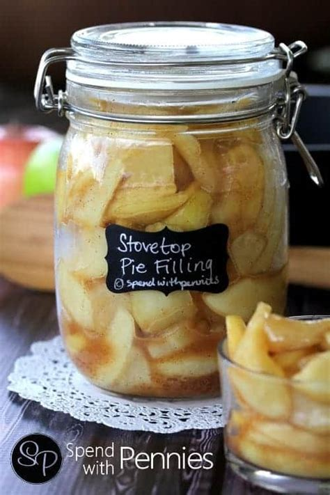 Recipe as written below is for 7 quarts of apple pie filling. Homemade Apple Pie Filling {Easy Stovetop Recipe ...