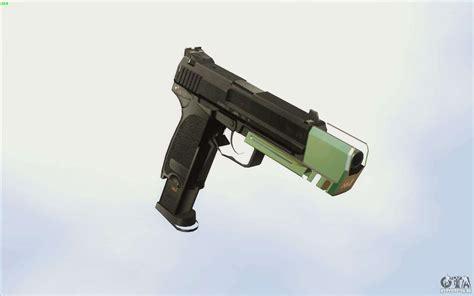 chrome weapon pack  gta san andreas