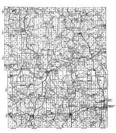 Wright County Missouri Map