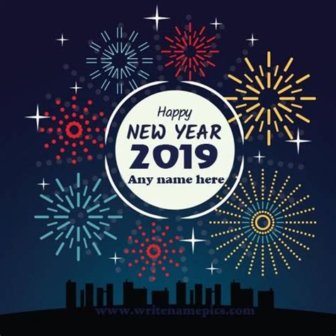 write   happy  year  wishes photo