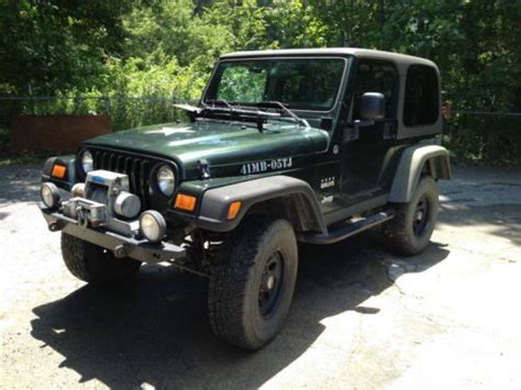 hayes auto repair manual 2005 jeep wrangler transmission control find used 2005 jeep willis tj wrangler 4x4 with manual 6 speed transmission in rogersville