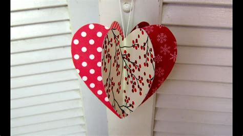 mothers day paper heart decoration card doovi