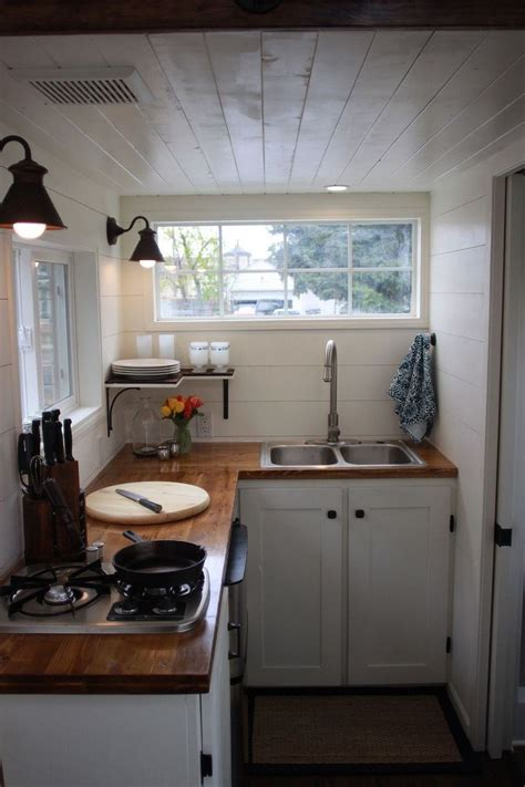 inspiration    tiny house  small kitchen