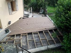 terrasse bois exterieur With pose plancher bois exterieur
