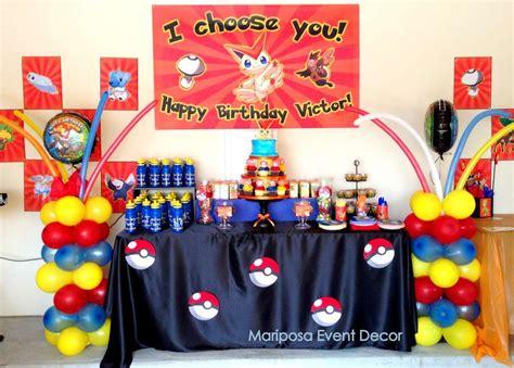 Pokemon Birthday Party Ideas
