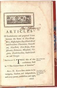 The Articles of Confederation, 1777 | Gilder Lehrman ...