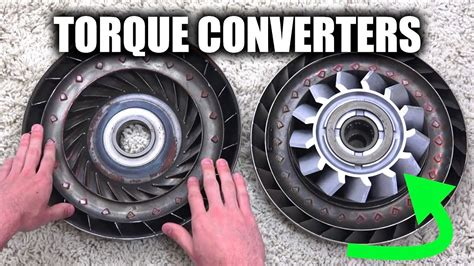 How Torque Converters Work Automatic Transmissions Youtube