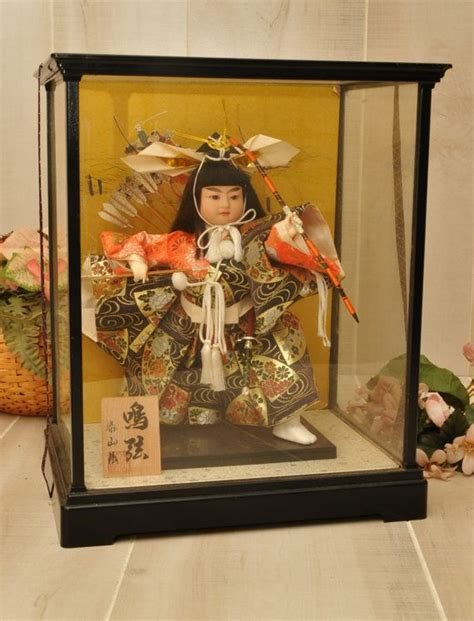 reduced japanese musha ningyo boys day doll sanurai
