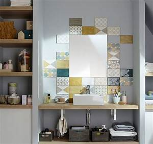 Mosaique Salle De Bain Castorama : mosa que salle de bain laquelle choisir c t maison ~ Dailycaller-alerts.com Idées de Décoration