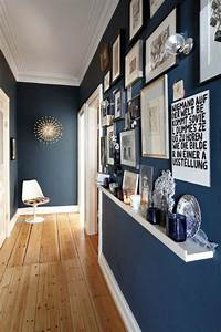 decoration couloir 25 idees geniales a decouvrir With couleur de peinture pour couloir 13 decoration murale en bois use