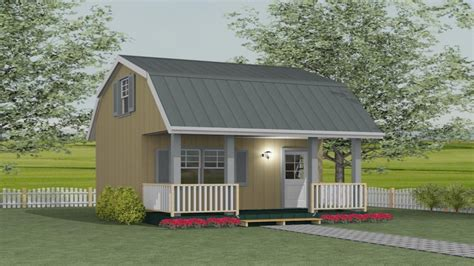Loft Barn Shed Plans Storage Barn Plans With Loft, Bunkie