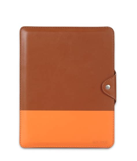 This good-looking dipped leather iPad case ($128) is just ...