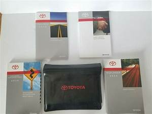 Toyota Highlander Hybrid 2015 Owners Manual W   Case
