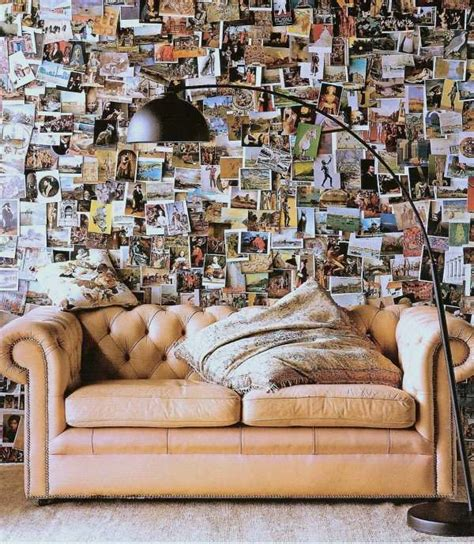 Fotos Aufhängen Wand by Postkarten Wandgestaltung Wohnzimmer Deko Postkarten