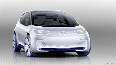 2018 Volkswagen Id Concept Front Hd Wallpaper 2
