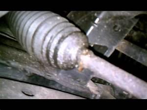 Power steering rack leak
