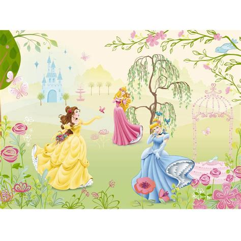 Disney Garden Decor Uk by Disney Princess Garden Large Photo Wall Mural Room Decor