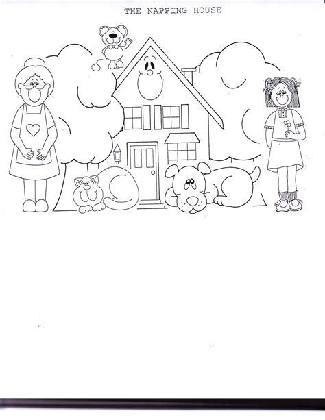 the napping house preschool activities the napping house kindergarten nana 371